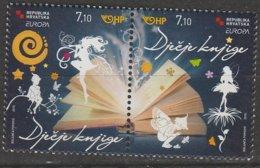 Croatie Europa 2010 N° 890/ 891 ** Livres Enfants - Europa-CEPT