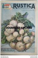 1955 RUSTICA Journal Universel De La Campagne N° 30 QUI VEUT BON NAVET LE SÈME EN JUILLET - Periódicos