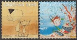 Feroe Europa 2010 N° 694/ 695 ** Livres Enfants - 2010