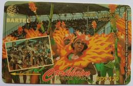 92CBDA B$20 Crop Over  With Slash - Barbades