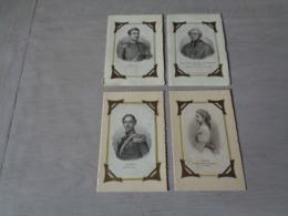 Beau Lot De 20 Cartes Postales De Famille Royale Avec Fravure Attaché Sur La Carte ( Rosmaster 1830 , Mayer , Volkert ) - Cartes Postales