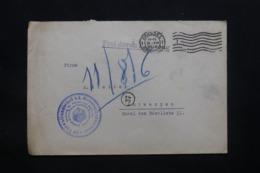 BELGIQUE - Enveloppe De Bruxelles En Franchise Pour Anvers En 1915 Avec Cachet De Contrôle - L 43070 - WW I