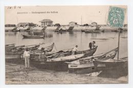 - CPA ARCACHON (33) - Déchargement Des Huîtres 1904 - Collection Ewald Heyl - - Arcachon