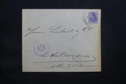ALLEMAGNE - Enveloppe Commerciale De Frankfurt Pour Anvers En 1915 Avec Cachet De Contrôle - L 43081 - Brieven En Documenten