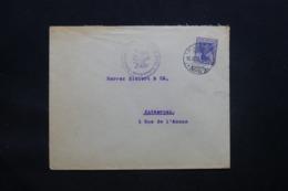 ALLEMAGNE - Enveloppe Commerciale De Frankfurt Pour Anvers En 1915 Avec Cachet De Contrôle - L 43083 - Brieven En Documenten