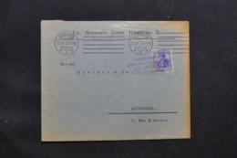 ALLEMAGNE - Enveloppe Commerciale De Hamburg Pour Anvers En 1915 Avec Cachet De Contrôle - L 43085 - Allemagne