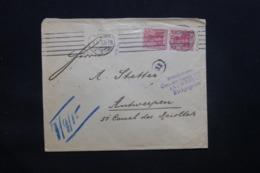 ALLEMAGNE - Enveloppe Commerciale De Hamburg En 1915 Pour Anvers Avec Cachet De Contrôle - L 43088 - Allemagne
