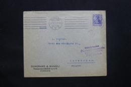 ALLEMAGNE - Enveloppe Commerciale De Hamburg En 1915 Pour Anvers Avec Cachet De Contrôle, Timbre Perforé - L 43089 - Allemagne