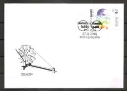 SLOVENIA  2019,150 YEARS OF THE BIRTH OF MAHATMA GANDHI,FDC - Mahatma Gandhi