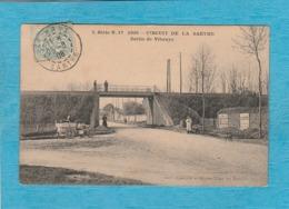 Circuit De La Sarthe, 1906. - Sortie De Vibraye. - Vibraye