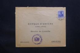 ALLEMAGNE - Enveloppe Pour Anvers Avec Cachet De Contrôle De Frankfurt - L 43090 - Germany