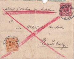 ALLEMAGNE 1897 LETTRE DE KROPP - Brieven En Documenten