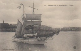 Cpa Granville 50 Miquelon  L ESPOIR   Peche A La Morue  SPM  Et Bancs TN   Départ  Superbe Plan Coron  Photo N°151 - Granville