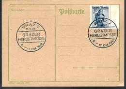 AUTRICHE - GRAZ - 1948 - - 1945-.... 2ème République