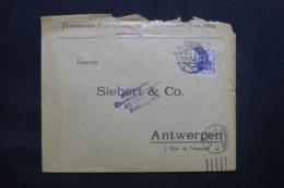ALLEMAGNE - Enveloppe Commerciale De Oldenburg Pour Anvers En 1915 Avec Cachet De Contrôle - L 43093 - Allemagne