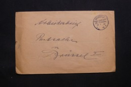ALLEMAGNE - Enveloppe En Franchise De Neudorf Pour Bruxelles En 1918 - L 43094 - Germany