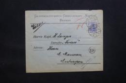ALLEMAGNE - Enveloppe Commerciale De Bremen Pour Anvers En 1918 Avec Cachet De Contrôle - L 43095 - Allemagne