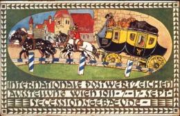 18211 - Vienna - Internationale Postwertzeichen Aussetellung Wien 1911-7-17-Sept Secessionsgebaeude R - Altri