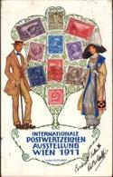 18212 - Vienna - Internationale Postwertzeichen Aussetellung Wien 1911 R - Altri