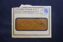 ALLEMAGNE - Enveloppe Commerciale De Wallendorf En 1918 Avec Cachet De Contrôle- L 43098 - Allemagne