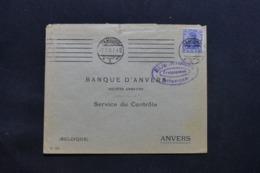 ALLEMAGNE - Enveloppe Commerciale De Hamburg Pour Anvers En 1918 Avec Cachet De Contrôle - L 43099 - Allemagne