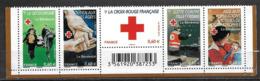France 2011 N° 4621/4625 Neufs En Bande Croix Rouge Cote 10 Euros - Neufs