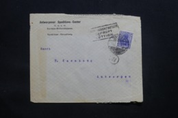 ALLEMAGNE - Enveloppe Commerciale De Barmen Pour Anvers Avec Cachet De Contrôle - L 43103 - Allemagne