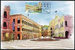 MACAU / MACAO (2019). Grande Baía Guangdong-Hong Kong-Macau - Maximum Card (Senado Square) - 1999-... Chinese Admnistrative Region