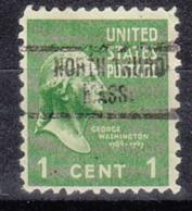 USA Precancel Vorausentwertung Preo, Locals Massachusetts, North Truro 734 - Vorausentwertungen