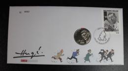 NUMISLETTER 3648 100 Ans Jaar Hergé Tintin Kuifje  BD Comics Strips - Numisletters