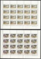 X280 1993 ARGENTINA ART PAINTINGS #2179-80 MICHEL 60 EURO 20SET MNH FOLDED TWICE - Autres