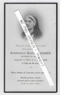 """INFIRMIERE à LOURDES - """" Souvenez Vous ... """" - Madeleine GILHARDI - 1935 - Esquela"""