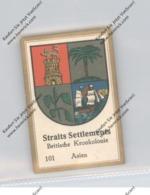 MALAYSIA - STRAITS SETTLEMENT, Staatswappen, Abdullah Vignette / Cinderella - Malaysia