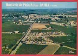 CPm-34-POMEROLS -BAHIA - Vue Aérienne De L'Hôtellerie De Plein Air -  2 SCANS *** - France