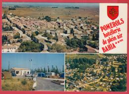 CPm-34-POMEROLS -BAHIA - Camping EtVue Aérienne *-  2 SCANS *** - France