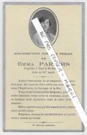 """63 -  AIGUEPERSE - """" Souvenez Vous ... """" - Emma PARADIS - 1935 - Obituary Notices"""