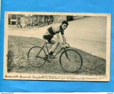 PETIT BRETON-coureur Argentin-avec Son Nouveau Vélo-a Voyagé En  1905 Pour Allemagne-édition   B F - Cycling