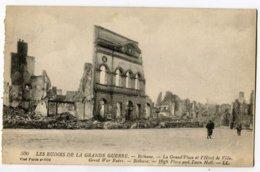 CPA 62 BETHUNE Hotel De Ville Bombardements (guerre 1914) - Bethune