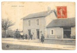AULNAY: LA GARE - Aulnay