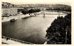 D 5520 - Lyon (69 ) Les Quais De La Saone - Lyon