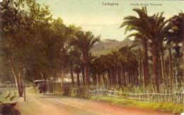 SPAGNA-CARTAGENA--CARTOLINA D'EPOCA VIAGGIATA COME DA FOTO- - Spagna