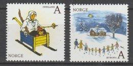 Norvege Europa 2010 N° 1679/ 1680 ** Livres Enfants - Europa-CEPT