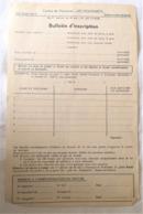 Bulletin D'inscription Centre Vacances LES DOLIMARTS Bohan Sur Semois Belgique - Sin Clasificación