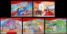 China 2019-23 70th Anniversary National Day Stamp Full Set MNH VF - 1949 - ... Volksrepublik