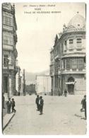 VIGO Calle De Velásquez Moreno Animación 1908 - Pontevedra