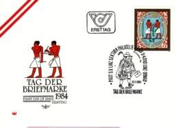 FDC - Tag Der Briefmarke 4010 Linz 1984 Ersttag - FDC