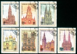 Malagasy 1994 Madagascar Architecture Church Cathedral Building Houses History Cultures Churches Art Stamps CTO Used - Art