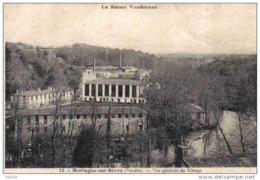 Carte Postale 85.  Mortagne-sur-Sèvre  L'Usine De Tissage Trés Beau Plan - Mortagne Sur Sevre