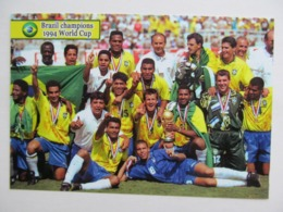 Brazil Team. World Cup1994 Champions Romario Dunga Bebeto Ronaldo World Cup History Modern 2018 PC - Fútbol