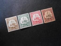D.R. 24/ 25/ 26a/ 18*MLH   Deutsche Kolonien (Deutsch-Südwestafrika) 1901/1906 - Mi 5,80 € - Colony: German South West Africa
